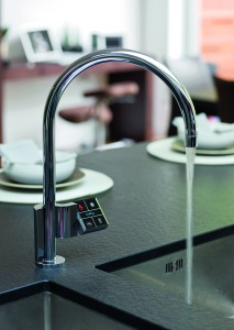 Quatreau Touch instant boiling kitchen tap